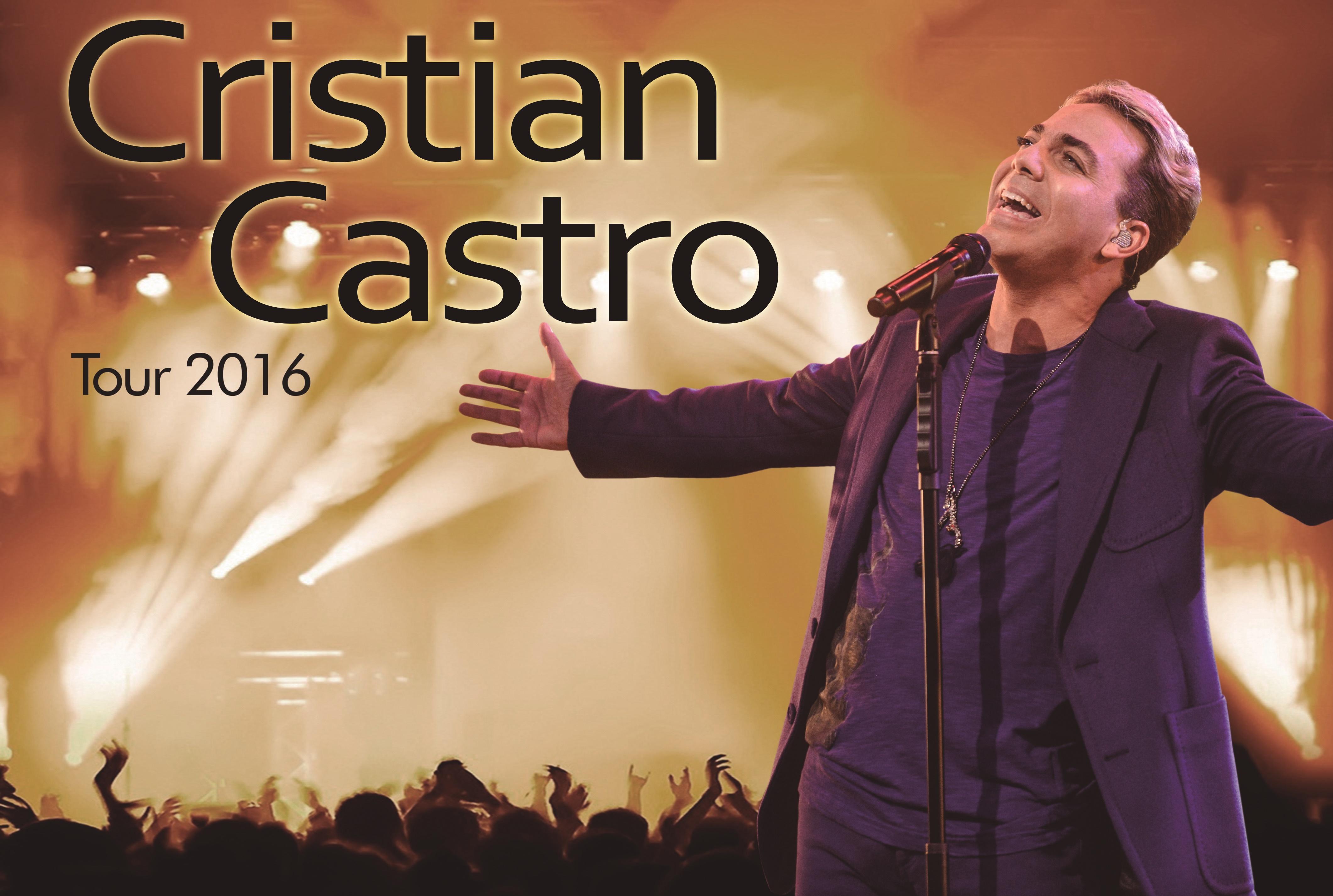 Cristian Castro Tour  Songs