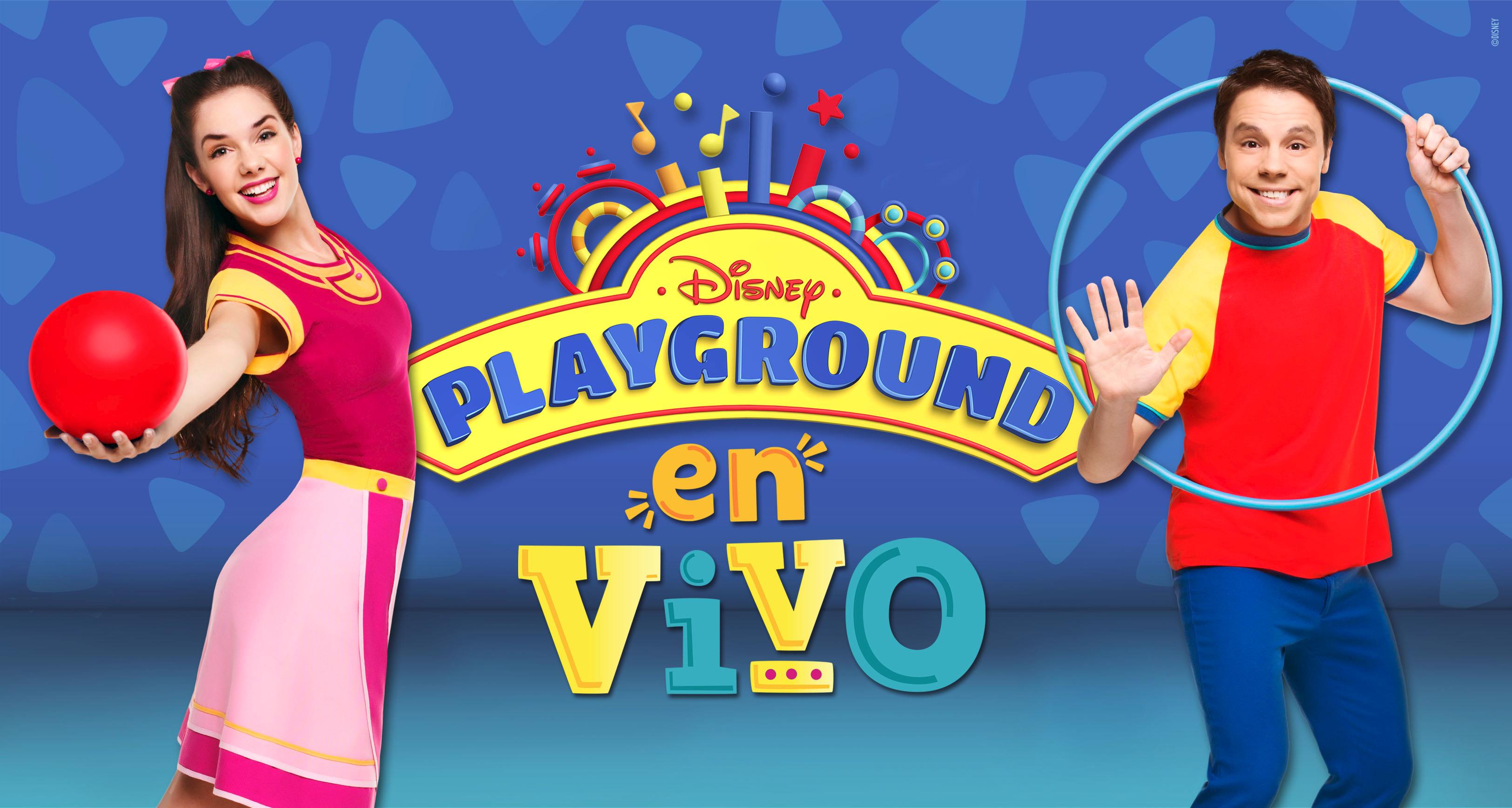Playground en vivo juanchi y juli de disney junior llegan for Aeiou el jardin de clarilu